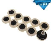 2 zoll Wolle Disc Polieren Pad Rad Für Bohren Werkzeuge Scratch Remower Glas Polieren Pad Kit Für Auto Polierer Polieren pad