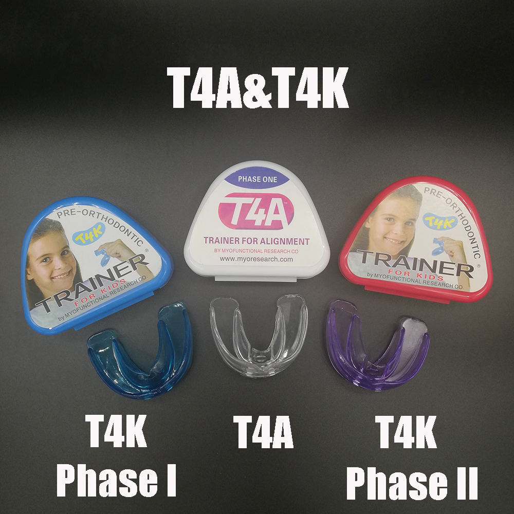 1 Set Dental T4A&T4K Tooth Orthodontic Appliance Trainer For Alignment Braces Teeth Trainer For Adults Children Tooth Whitening