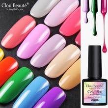 Clou beauté – vernis à ongles Gel UV, paillettes, couleurs, tremper, Nail Art, besoin de Base durcie, peinture, Gel hybride