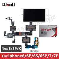 Qianli Ibridge Fpc Test Cable Motherboard Pin Resistance Voltage Signal Test Extension Line For Iphone 6 6s 7 7p 8 8p X Repair
