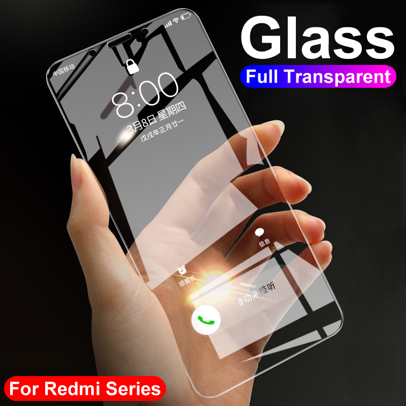 9H Protective Glass On The For Xiaomi Redmi 4 4X 4A 5A 6A 6 K20 Pro S2 Note 4 5 Pro Screen Protector Tempered Glass Film Case