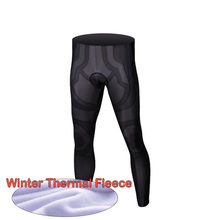 Pro Winter Cycling Pants Padded 9D Gel Winter Thermal Long Cycling Bib Pants Thermal Fleece MTB Bike Bicycle Racing Pants spexcel high quality pro team winter thermal fleece cycling bib pants bicycle tights road mtb cool cycling gear with back pocket