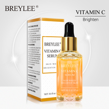 BREYLEE Vitamin C Serum Face Whitening Essence Brighten Skin Facial Skin Care Fa