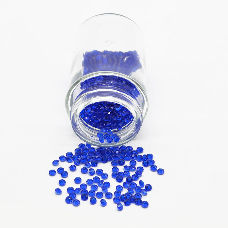 2000Pcs 4mm Crystals Diamond Table Confetti Wedding Party Decoration Supplies