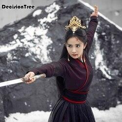 2020 frauen hanfu cosplay fee kostüm hanfu kleidung chinesische traditionelle alte kleid legende von fuyao klassische kostüm