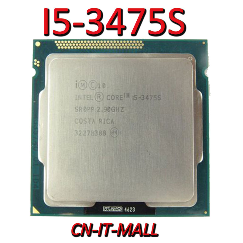 Pulled I5-3475S CPU 2.9G 6M 4 Core 4 Thread LGA1155 Processor