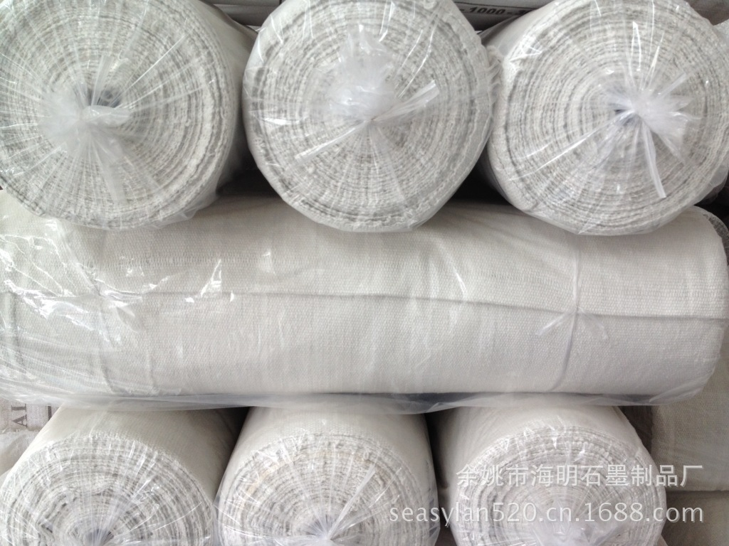 Flue Pipe Iron And Steel Forging Factory High-temperature Resistant 1260-Degree Aluminum Silicate Viscose Ceramic Fiber Cloth