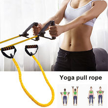 Acquisition TPE Chest Expander Elastic Rope for Yoga Training Puller Stretch Arm Apparatus Fitness Pull Rope for Tension Band Removable discount