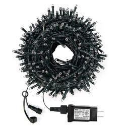 Thrisdar DC24V 100M 800 LED Weihnachts Fee String Licht Outdoor Wasserdicht Urlaub Weihnachten Hochzeit Party String Girlande Licht