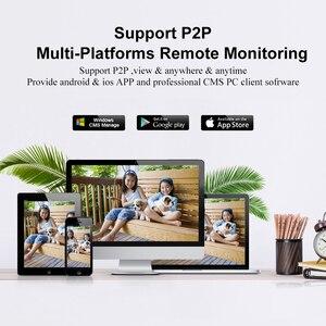 Image 5 - Gadinan HD 4MP 1080P Wireless SD Karte Slot Audio IP Kamera Wifi Sicherheit Kamera Nachtsicht Metall Wasserdichte Outdoor kamera