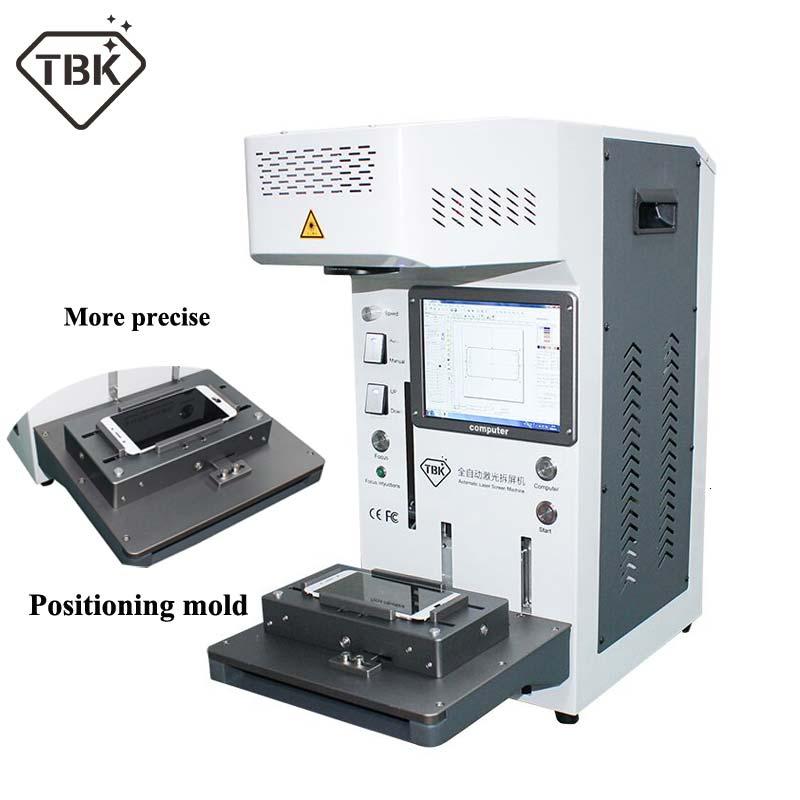 Tbk958a impressora diy cnc máquina de gravura a laser lcd máquina de reparo a laser para iphone 11 x xs xsmax 8 8 + capa traseira separador