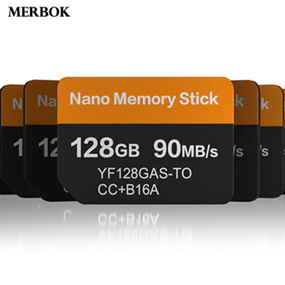 Nano Memory Stick NM Card For Huawei Huawei P30 Pro 128GB 90MB/S NM-Card With USB3.1 Gen 1 Type-C Dual Use TF/NM Card Reader(China)