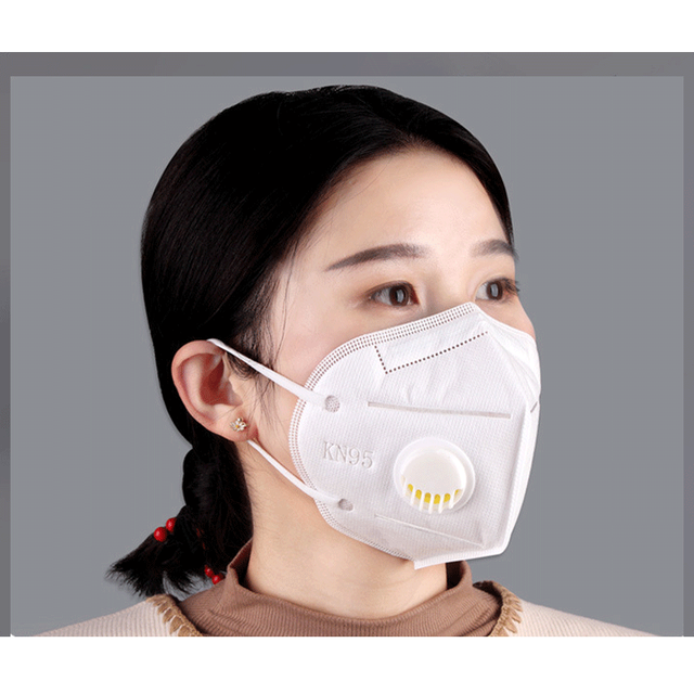 KN95 Spot Mask Adult child valve mask Anti Dust Pollution Filter PM2.5 Protective Respirator mascarilla Various colors 2
