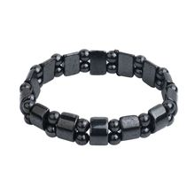 Gifts Black Stone Magnetic Therapy Bracelet For Women Men He