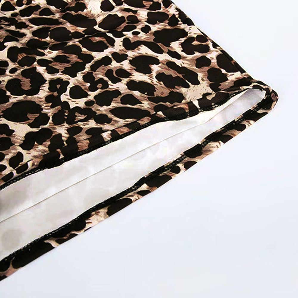 #40 femmes jupes léopard imprimé jupe taille haute Sexy crayon moulante hanche Mini jupe harajuku gothique jupe gland jupe
