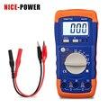 Профессиональный Цифровой LCR измеритель 2000pF-200uF 2mH-20H A6243L конденсатор индуктивность метр тестер Электрические измерительные приборы