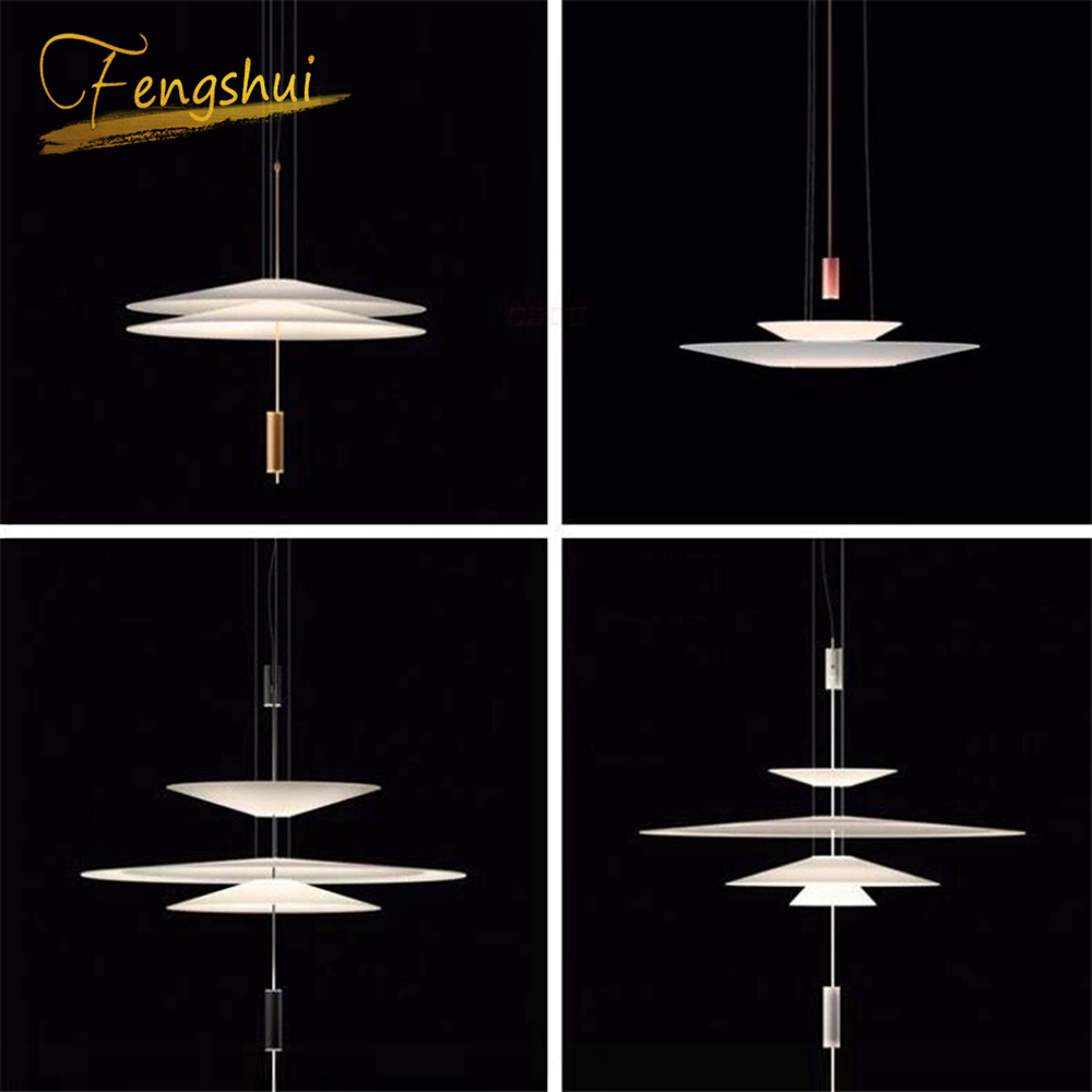 Modern LED Pendant Lamps Lighting Restaurant Cafe Lighting Nordic Pendant Lights Acrylic Hanging Lamp Kitchen Fixtures Luminaire