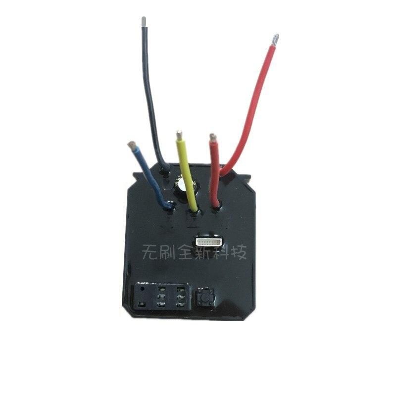 18V21V Potentiometer Stepless Speed Control Brushless Motor Control Board Driver DIY