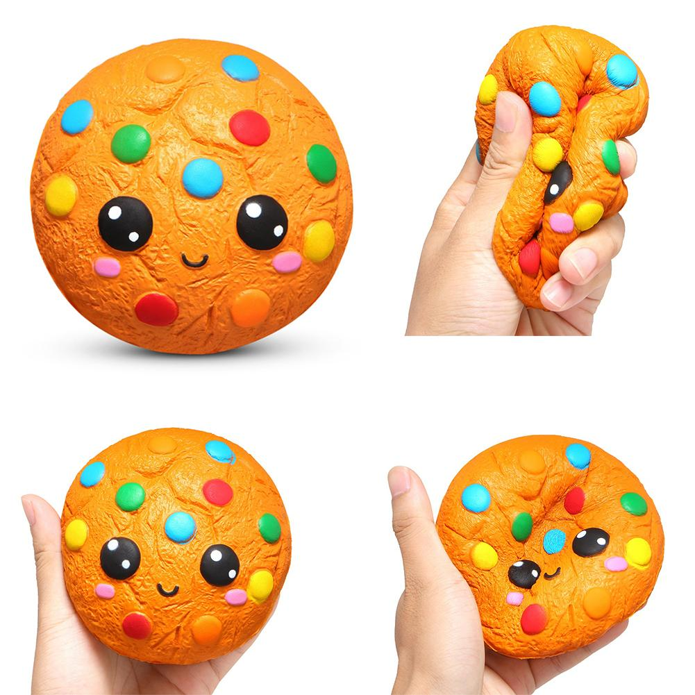 Cartoon Squishyed Designed Into Delicious  Chocolate Cookie Scented Slow Rising Kids Stress Relief Toys  Smells Good