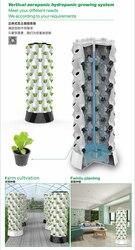 نظام الزراعة المائية العمودية aeroponics الذي يمكن تخصيصه حسب طلب العملاء