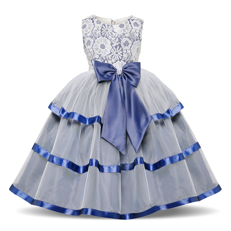Hef9a777030924e56ad9513244f37c761J Girls Dress Elegant New Year Princess Children Party Dress Wedding Gown Kids Dresses for Girls Birthday Party Dress Vestido Wear