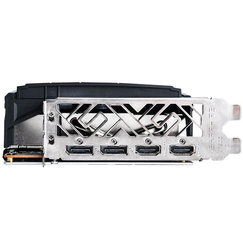 Видеокарта Sapphire Radeon RX 5700 XT 8GD6 256bit PUBG для компьютера, игровая видеокарта Platinum Edition OC, высококлассная видеокарта PCI DP/HDMI-1