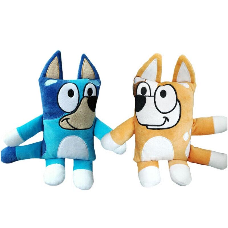 20cm Bluey Plush Toys Blue Bingo The Dog Plush Doll Toys Cartoon TV Dog Stuffed Animals Toys Baby Kids Christmas Birthday Gifts