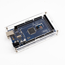 Enclosure Transparent Gloss Acrylic Box Compatible for arduino Mega 2560 R3 Case without the board