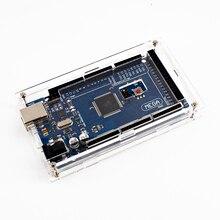 Obudowa przezroczysty połysk okno akrylowe kompatybilny dla arduino Mega 2560 R3 przypadku bez płyty