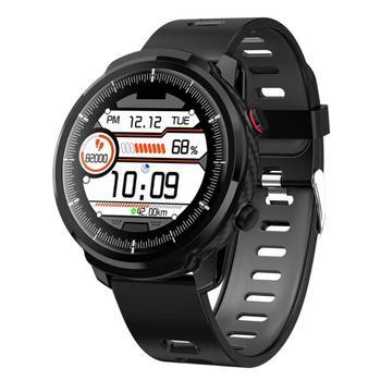 L3 pulsera inteligente Frecuencia Cardíaca presión arterial IP67 Bluetooth llamada pulsera silenciosa alarma reloj sedentario recordatorio inteligente reloj deportivo