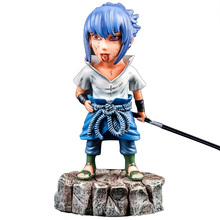 цена Anime Figures Uchiha Sasuke naruto PVC Model Tattoo Edition Toys Action Figures Collection Figures 16cm онлайн в 2017 году