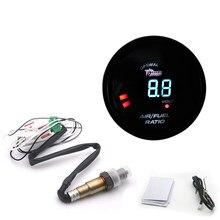 Calibre da relação do combustível do ar de digitas de 52mm com o calibre do carro do sensor do oxigênio o2 da faixa estreita apto para o oem do carro 12v: 0258006028 6238sw