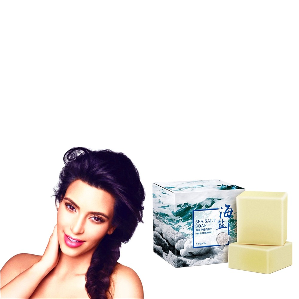 Deep Cleansing And Moisturizing Whitening Soap With Sea Salt Hand Soap For Removing Mites And Nourishing Skin For Men And Women
