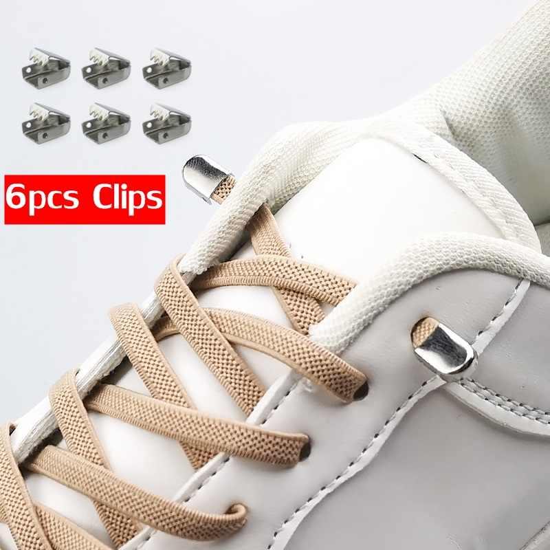 Эластичные шнурки для обуви, 1 пара эластичных шнурков для отдыха на открытом воздухе, кроссовки для быстрой безопасности, плоские шнурки для детей и взрослых, унисекс, ленивые шнурки