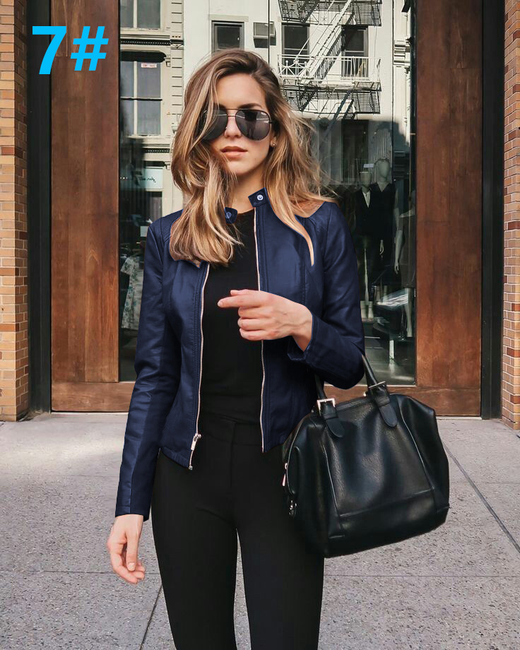 Hef9b89ea043844639408ed248d4f2095i 2021 Women Winter Coat Jacket Thicken Fashion Long sleeve Outwear PU Leather Jacket warm Coats For Women Autumn Women's Clothing