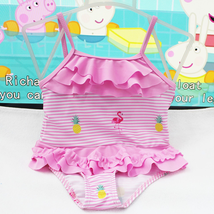 Children Ice Cream Baby Bathing Suit Children Infants Tour Bathing Suit Swimming Pool Girls Cute One-piece Swimwear