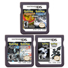 DS Video Game Cartridge Console Card Compilation Pokeon Black2 White2 HeartGold SoulSilver 2 In 1 for Nintendo DS 3DS 2DS review