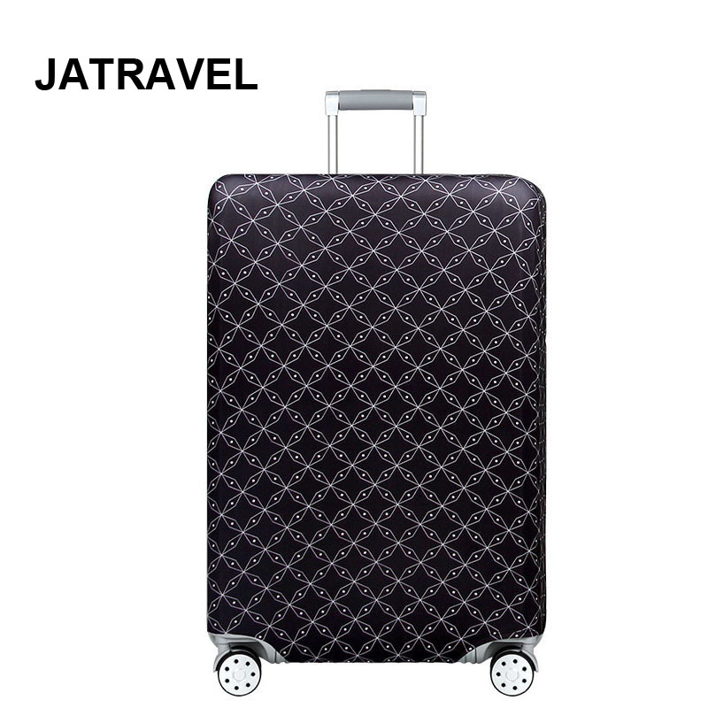 JATRAVEL Dark Thicken Trolley Luggage Protective Cover Animal Pattern 18-32inch Travel Baggage Elastic Suitcase Case Covers