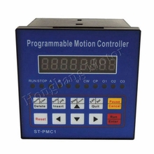 Free shipping CNC Stepper motor controller Motion Controller Single axis controller programmable ST PMC1