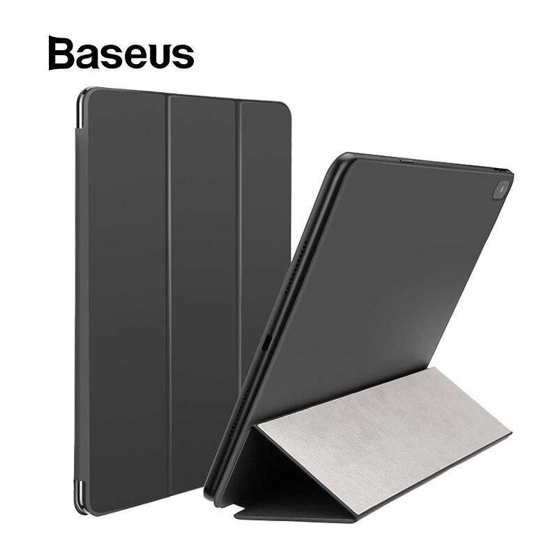 Funda abatible de cuero Baseus PU para Apple iPad Pro 11 ''12,9'' 2018 funda protectora de adsorción magnética para iPad Pro 11 2018