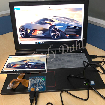 8,9 pulgadas 2K IPS 2560*1600 TFTMD089030 matriz de pantalla LCD con MIPI HDMI Placa de controlador LCD para frambuesa pi 3 4 Monitor de la PC de la tableta
