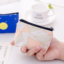Women Canvas Purse Card  Key Mini Purse Pouch Girl Kids Children Cute Small Zipper Coin Purse Card Holder Wallet Bag Case Pouch etya women coin purse cartoon cute headset bag small change purse wallet pouch bag for kids gift mini zipper coin storage bag