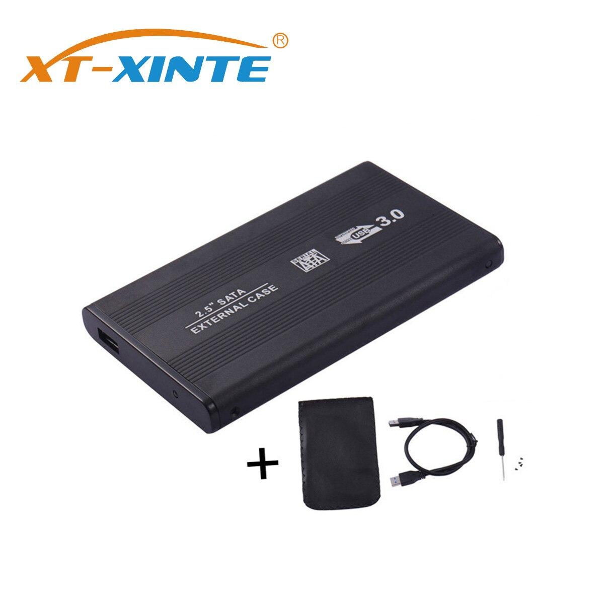 XT-XINTE Sata To USB 3.0 Hard Disk Drive Box High Speed 2.5