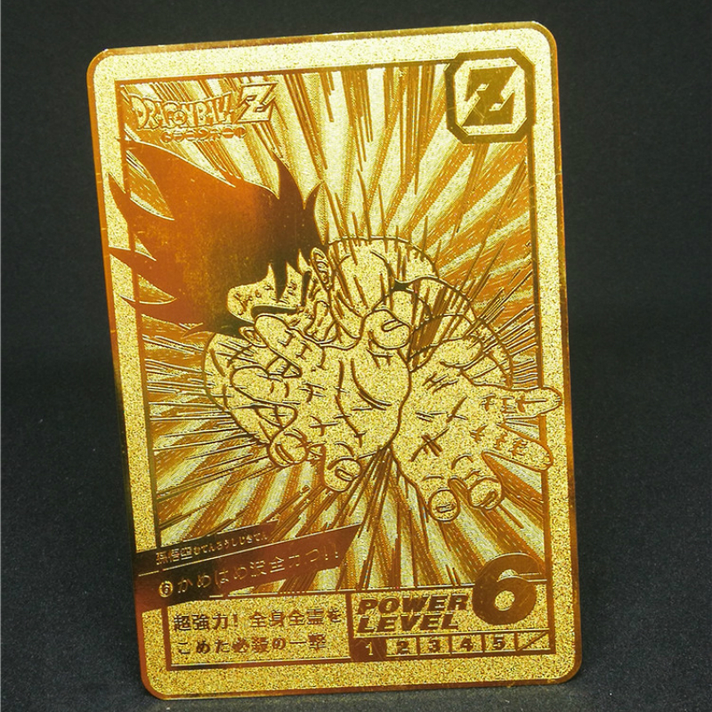 1pcs/set Super Dragon Ball Z Heroes Battle Metal Card Ultra Instinct Goku Vegeta Game Collection Cards Free Shipping