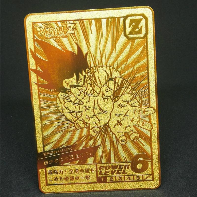 1pcs/set Super Dragon Ball Z Heroes Battle Metal Card Ultra Instinct Goku Vegeta Game Collection Cards Free Shipping