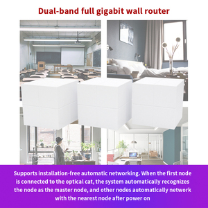 Image 3 - Nova GW6 Mesh WiFi Router Whole Home Gigabit System Roteador with AC1200 2.4G/5.0GHz WiFi Wireless  Repeater, APP Remote Manage