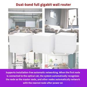 Image 3 - Nova GW6 Mesh WiFi Router todo el hogar sistema Gigabit Roteador con AC1200 2,4G/5,0 GHz WiFi repetidor inalámbrico, gestión de aplicación remota