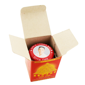 Image 4 - 6Pcs Vietnam Gold Tower Balm Active Cream 20g/bottle Relieving Itching Muscle Joint Rheumatism Pain Killer Detumescence Ointment
