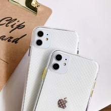 Clear Silicone Phone Case For iPhone 11 Pro Max Cases iphone XR XS Max X 7 8 6 6S SE Plus Soft TPU Transparent Back Cover Capa luxury clear phone case for iphone 11 pro max x xr xs max 8 7 6s 6 plus case soft silicon transparent back tpu full cover cases