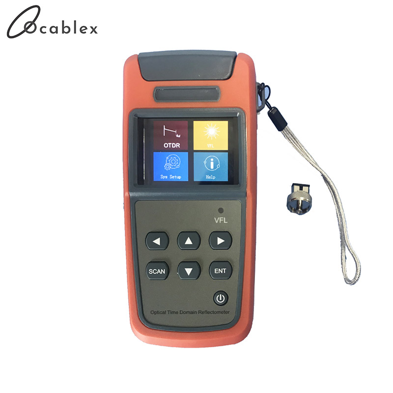 Promotion Mini OTDR JW3305A Optical Time Domain Reflectometer OTDR Built-in Visual Fault Locator Function SM 1310nm Or 1550nm